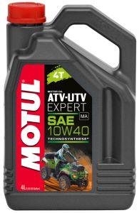Масло моторное Motul ATV-UTV Expert 4T 10W-40, 4 л.