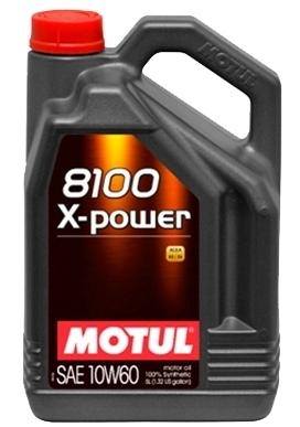 Масло моторное Motul 8100 X-Power 10W-60, 4 л.