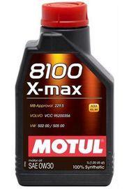 Масло моторное Motul 8100 X-Max 0W-30, 1 л.