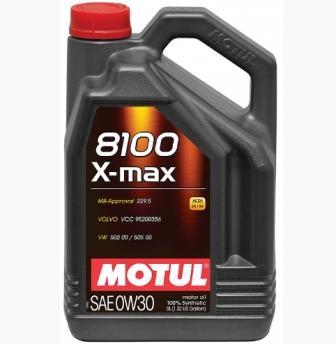 Масло моторное Motul 8100 X-Max 0W-30, 5 л.