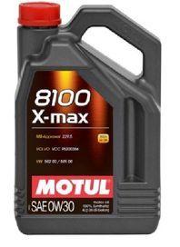 Масло моторное Motul 8100 X-Max 0W-30, 4 л.