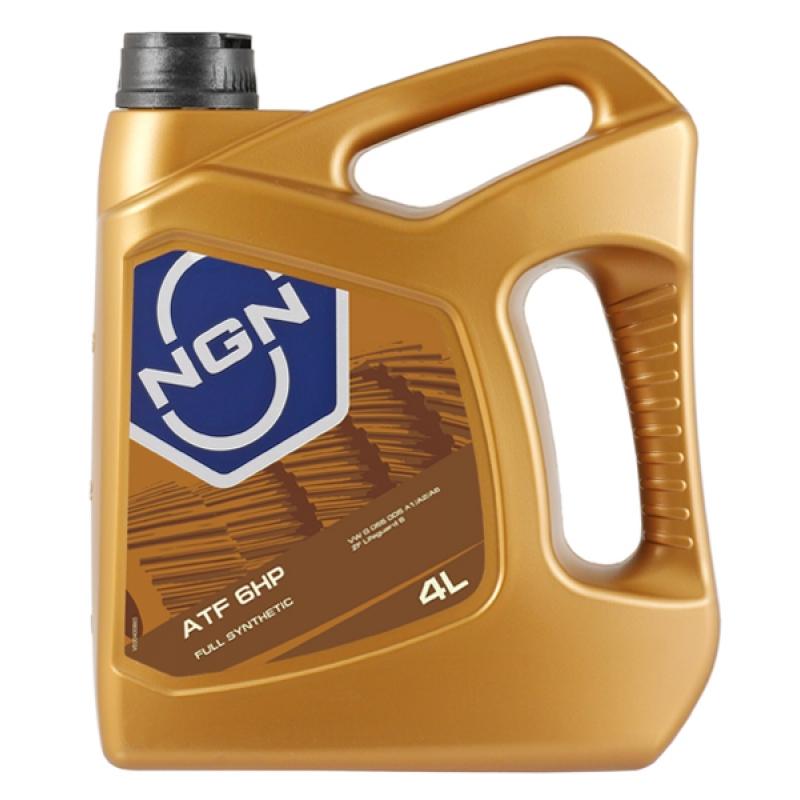 Масло трансмиссионное NGN ATF 6HP, 4 л.