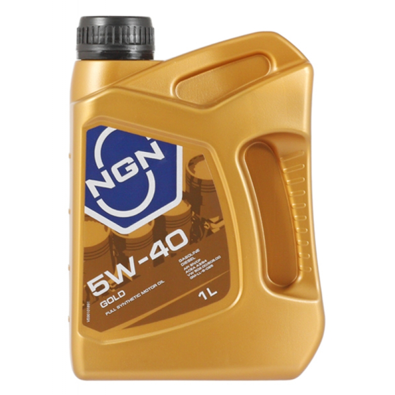 Масло моторное NGN Gold 5W-40, 1 л.