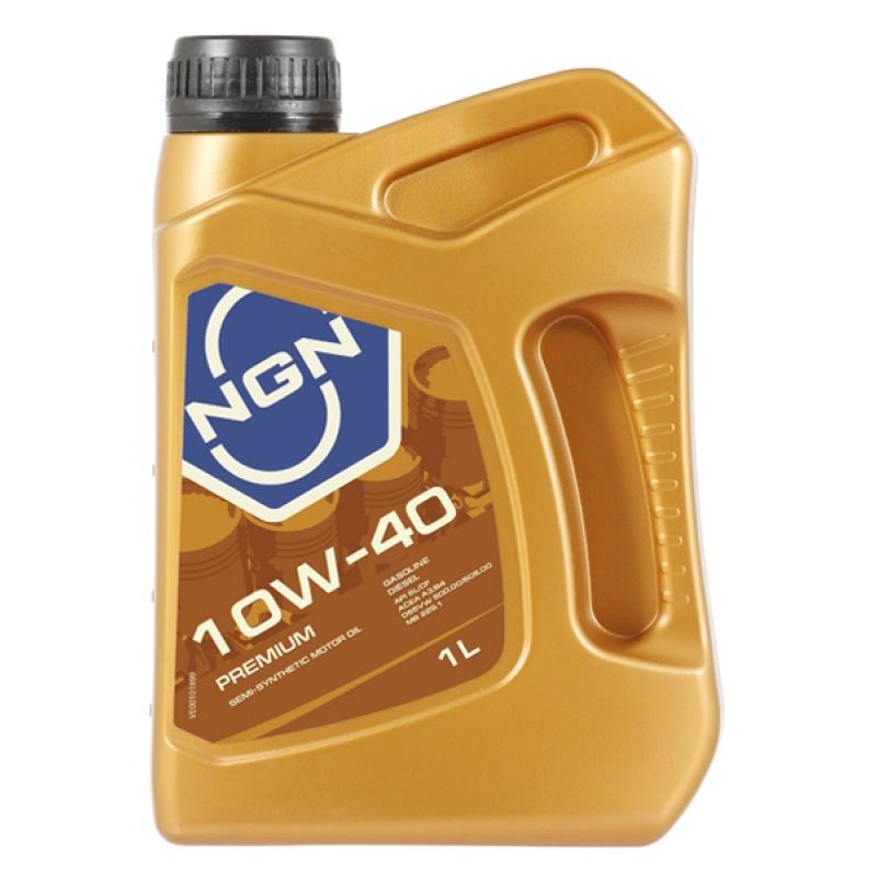 Масло моторное NGN Premium 10W-40, 1 л.