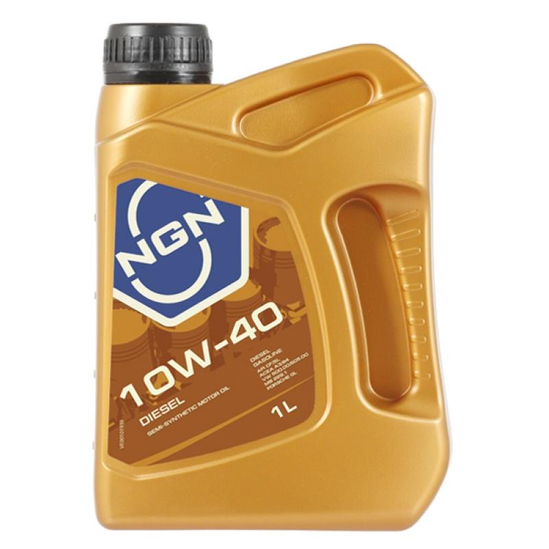 Масло моторное NGN Diesel 10W-40, 1 л.