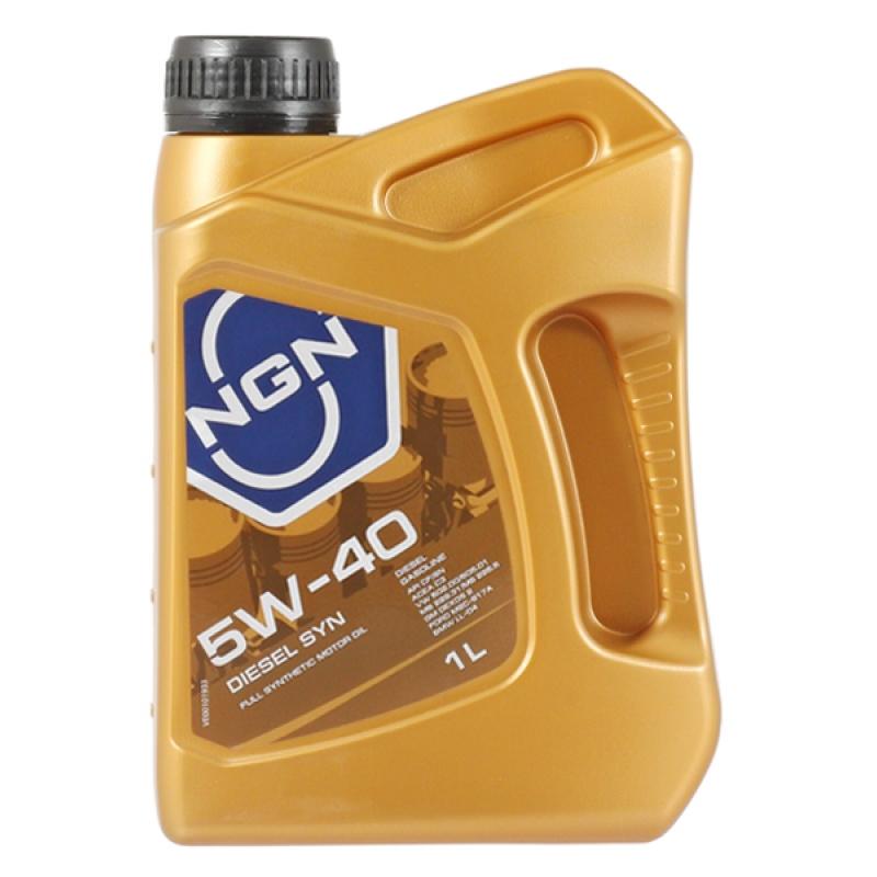 Масло моторное NGN Diesel Syn 5W-40, 1 л.