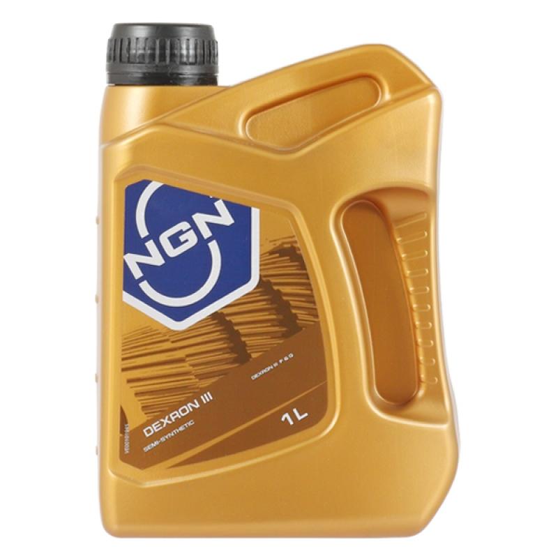Масло трансмиссионное NGN Dextron III, 1 л.