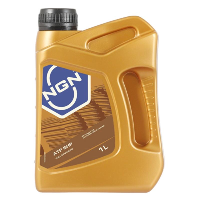 Масло трансмиссионное NGN ATF 6HP, 1 л.