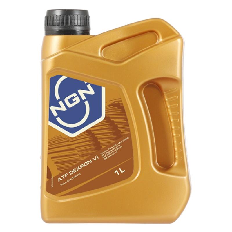 Масло трансмиссионное NGN Dextron VI, 1 л.