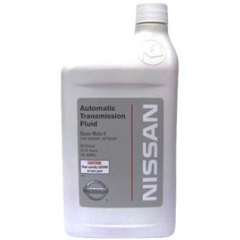 Масло трансмиссионное Nissan Matic Fluid S, 0.946 л.