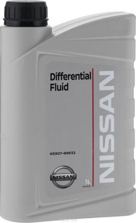 Масло трансмиссионное Nissan Differential Fluid 80W-90, 1 л.