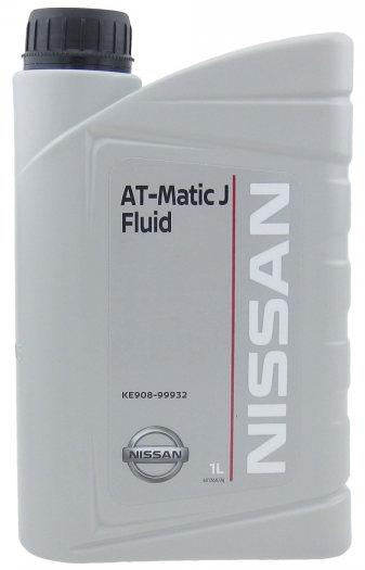 Масло трансмиссионное Nissan ATF Matic J, 1 л.
