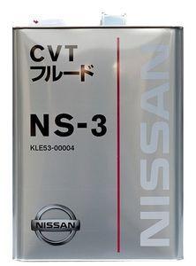 Масло трансмиссионное Nissan CVT NS-3, 4 л.