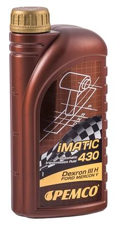 Масло трансмиссионное Pemco ATF Dexron3 iMATIC 430, 1 л.
