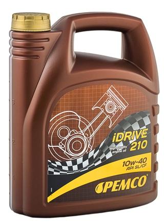 Масло моторное Pemco iDRIVE 210 10W-40, 4 л.