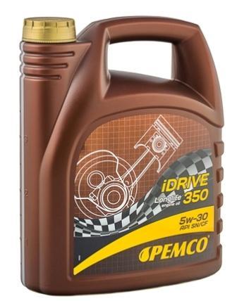 Масло моторное Pemco iDRIVE 350 5W-30, 4 л.