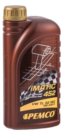 Масло трансмиссионное Pemco iMATIC 452 AG 52, 1 л.