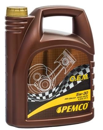 Масло моторное Pemco O.E.M for Ford Volvo 5W-30, 5 л.