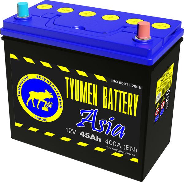 Аккумулятор Тюмень Asia 45 R+