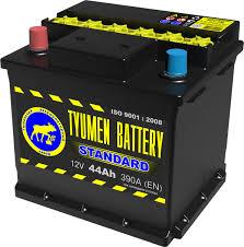 Аккумулятор Тюмень Standard 44A, L+