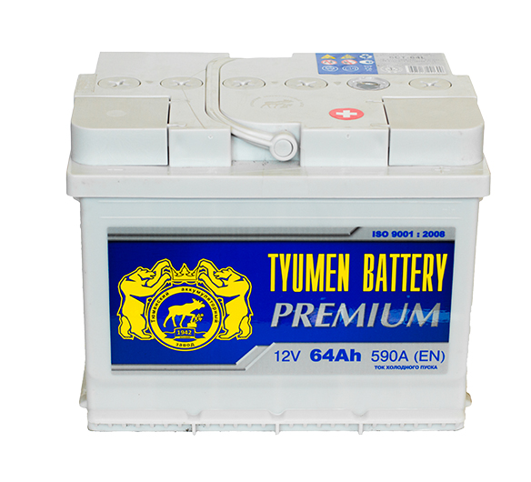 Аккумулятор Тюмень Premium 64А, R+