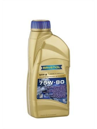 Масло трансмиссионное Ravenol MTF-2 75W-80, 1 л.