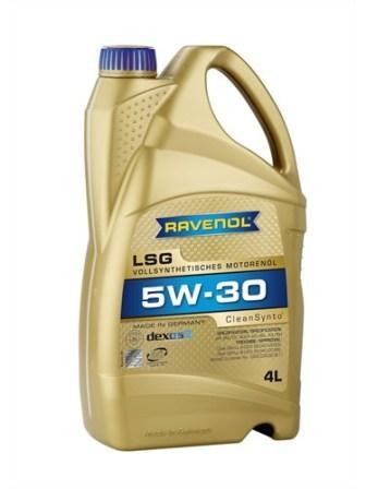 Масло моторное Ravenol LSG 5W-30, 4 л.