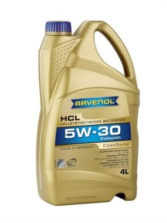Масло моторное Ravenol HCL 5W-30, 4 л.