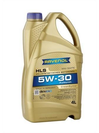 Масло моторное Ravenol HLS 5W-30, 4 л.