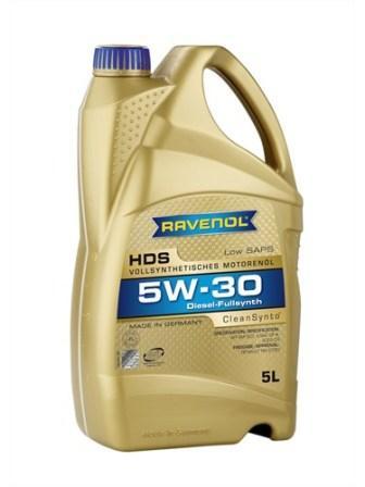 Масло моторное Ravenol HDS 5W-30, 5 л.