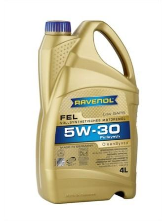 Масло моторное Ravenol FEL 5W-30, 4 л.