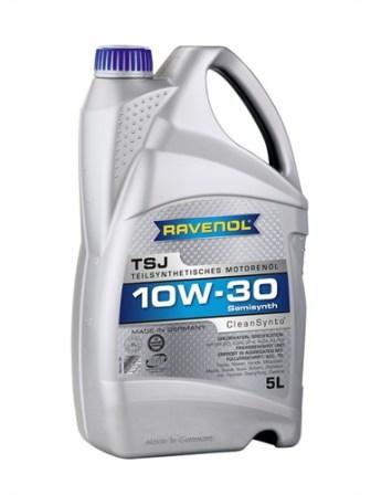 Масло моторное Ravenol TSJ 10W-30, 5 л.