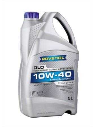 Масло моторное Ravenol DLO 10W-40, 5 л.