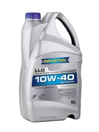 Масло моторное Ravenol LLO 10W-40, 5 л.