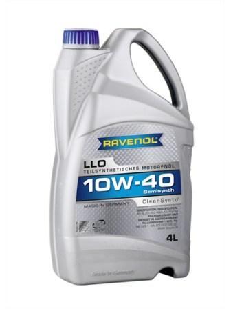 Масло моторное Ravenol LLO 10W-40, 4 л.