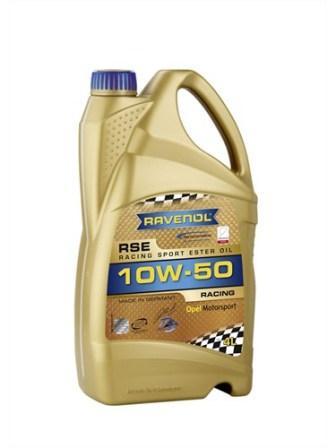 Масло моторное Ravenol RSE 10W-50, 4 л.