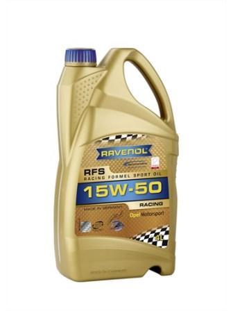 Масло моторное Ravenol RFS 15W-50, 4 л.