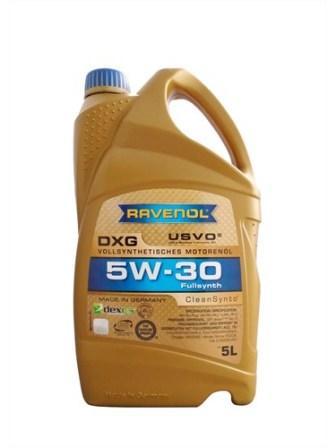 Масло моторное Ravenol DXG 5W-30, 5 л.