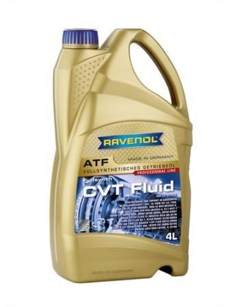 Масло трансмиссионное Ravenol CVT Fluid, 4 л.