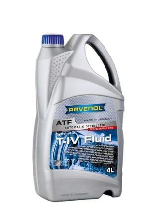 Масло трансмиссионное Ravenol ATF T-IV Fluid, 4 л.