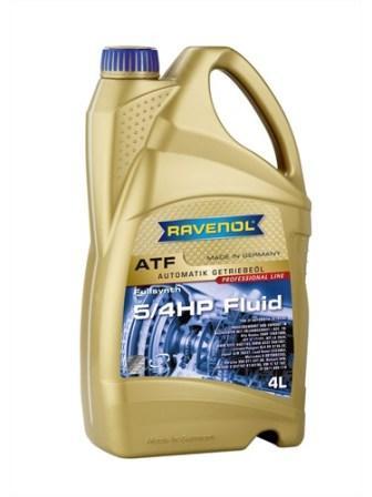 Масло трансмиссионное Ravenol ATF 5/4 HP Fluid, 4 л.