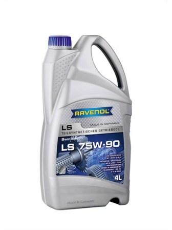 Масло трансмиссионное Ravenol LS 75W-90, 4 л.
