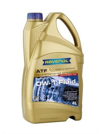 Масло трансмиссионное Ravenol ATF DW-1 Fluid, 4 л.