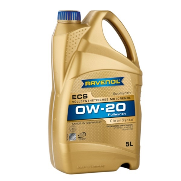 Масло моторное Ravenol Eco Synth ECS 0W-20, 5 л.