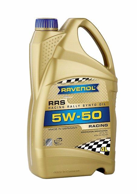 Масло моторное Ravenol RRS 5W-50, 4 л.