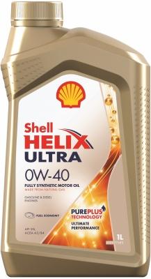Масло трансмиссионное Shell Helix Ultra 0W-40, 1 л.
