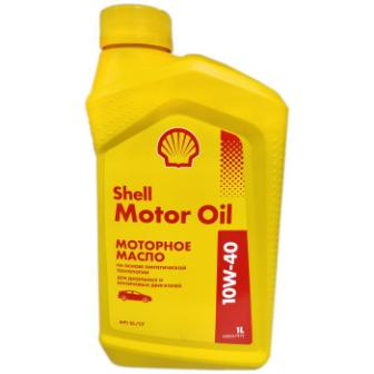 Масло моторное Shell Motor Oil 10W-40, 1 л.