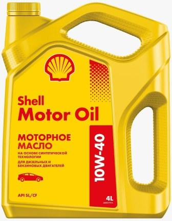 Масло моторное Shell Motor Oil 10W-40, 4 л.