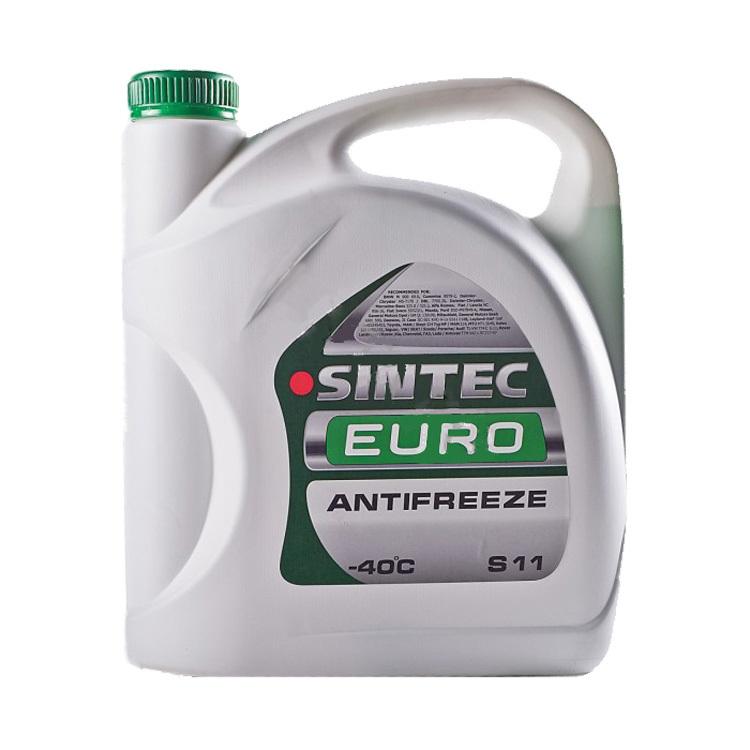 Антифриз Sintec Euro зеленый, 5 л.