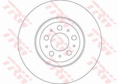 Диск тормозной Volvo XC90 02> R16 передний вент. D=316мм
